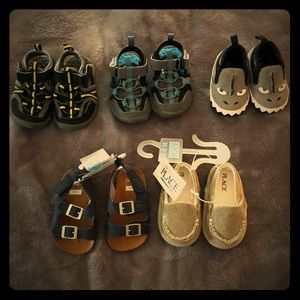 Size 2 infant shoes